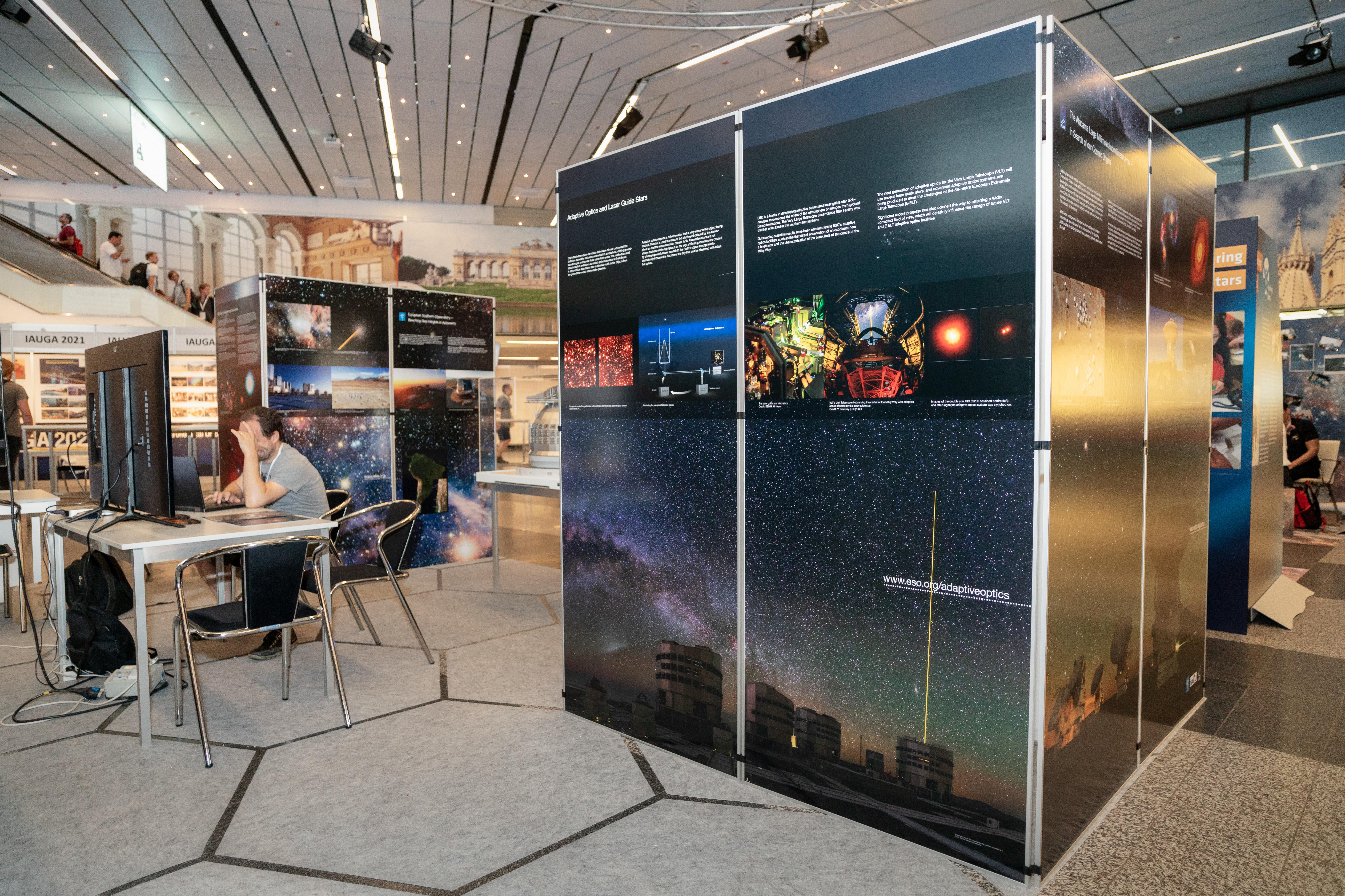 ESO stand at the IAU GA 2018