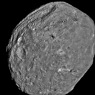Vesta as seen with the Dawn spacecraft