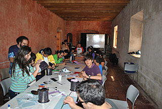 The first Guatemalan School of Astrophysics