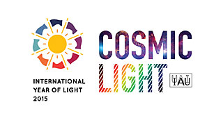 Cosmic Light Logo (color on white background)
