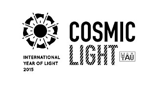 Cosmic Light Logo (black on white background)