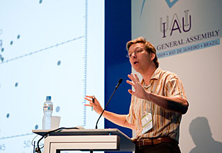 Mike Brown at IAU General Assembly 2009