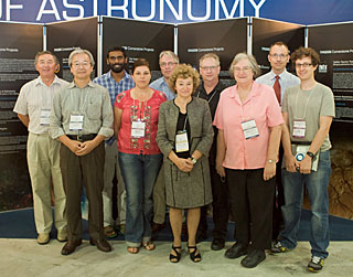 IYA2009 EC Working Group at IAU General Assembly 2009