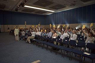 Closing Ceremony at IAU General Assembly 2009