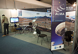 Exhibition Area, ALMA stand