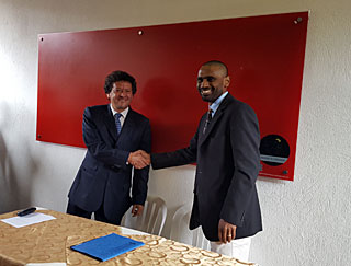 Signing of the Andean Regional Office