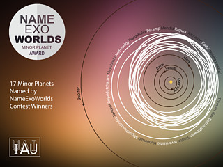 The NameExoWorlds Minor Planet Award