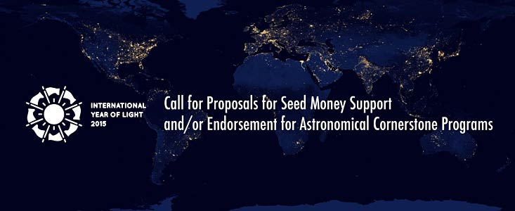 International Year of Light Call for Proposals
