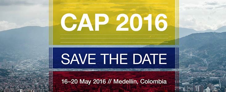 Save the date for CAP 2016