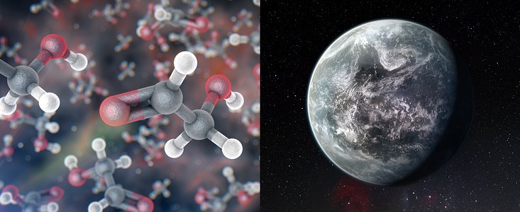 Astrochemistry and exoplanets