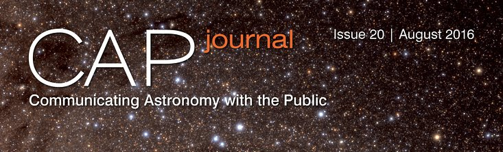Cover picture of CAPjournal issue 20