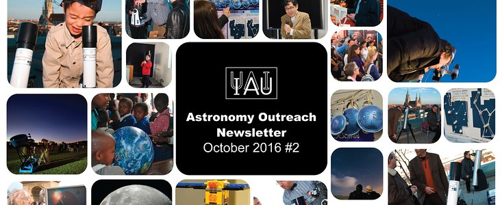 IAU Astronomy Outreach Newsletter #20 2016 (October 2016 #2)