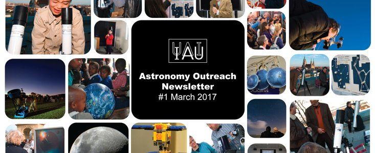 IAU Astronomy Outreach Newsletter #29 2017 (March 2017 #1)