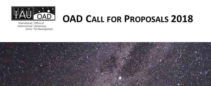 IAU OAD 2018 Call for Proposals