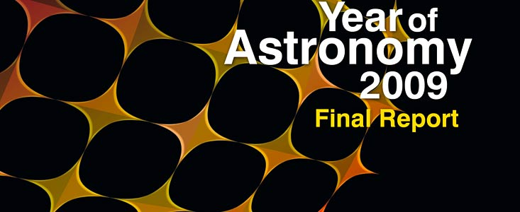 Cover of the International Year of Astronomy 2009 Final Report