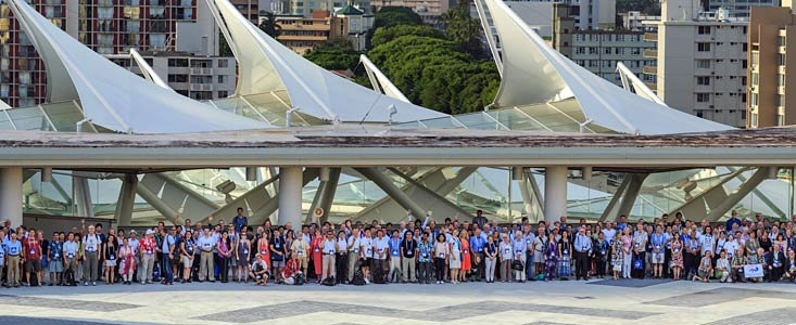 Group photo of the IAU General Assembly 2015