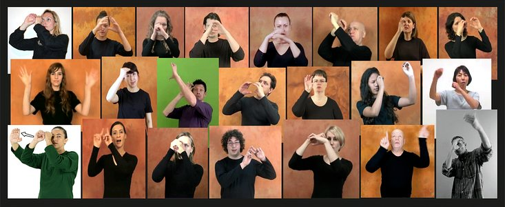 """Astronomy"" sign language"