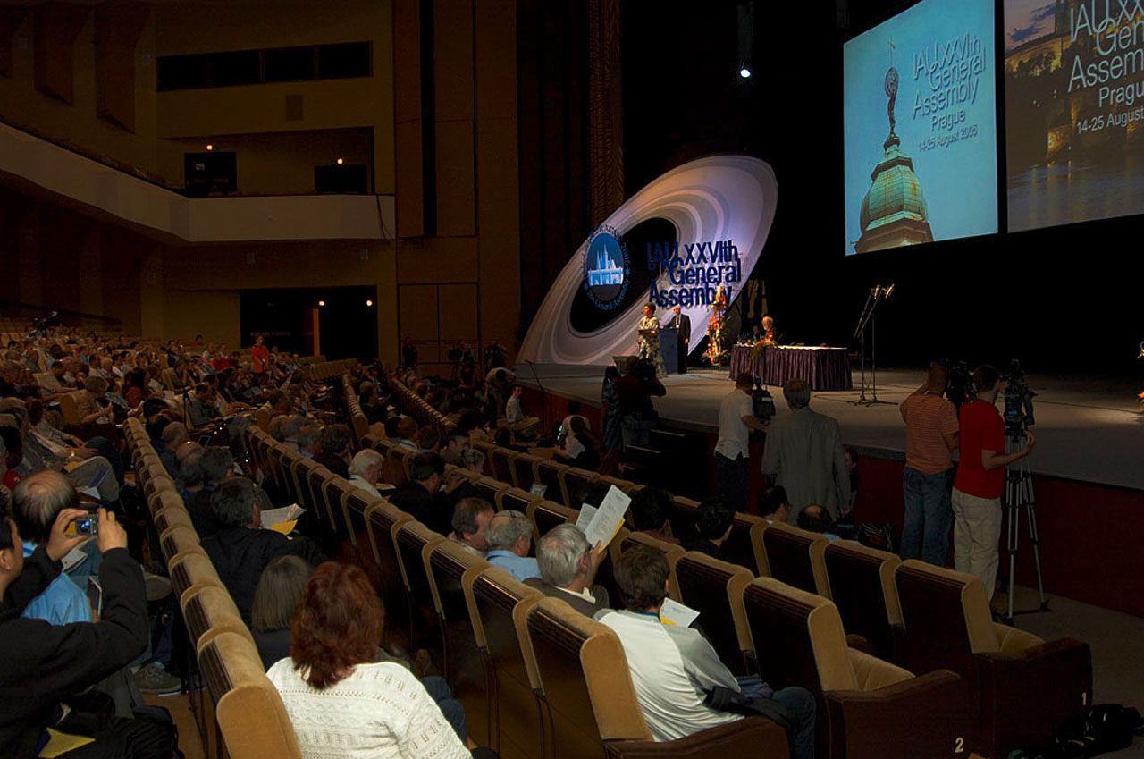 planet definition voting - iau general assembly 2006 | iau