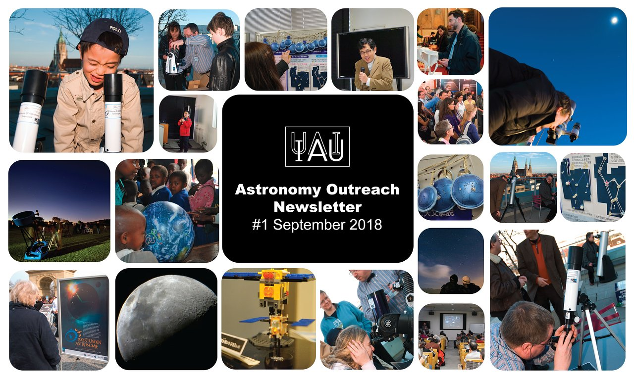 Astronomy Outreach Newsletter 2018 #17 (September #1)