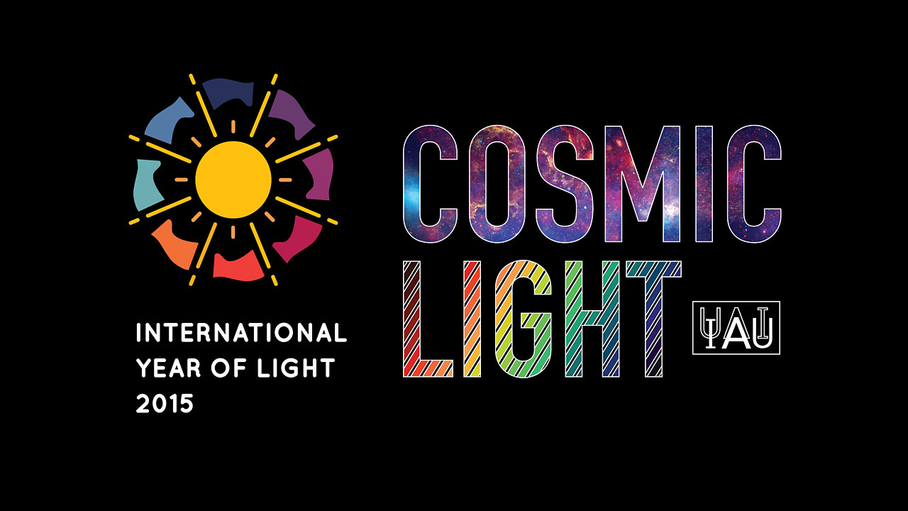 Cosmic Light Logo (color on black background)