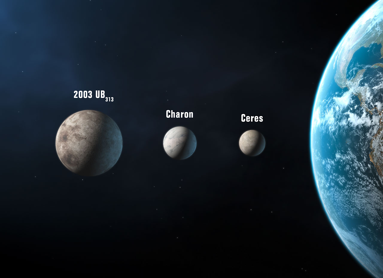 Three new planets artist 39 s impression iau for Define pluto