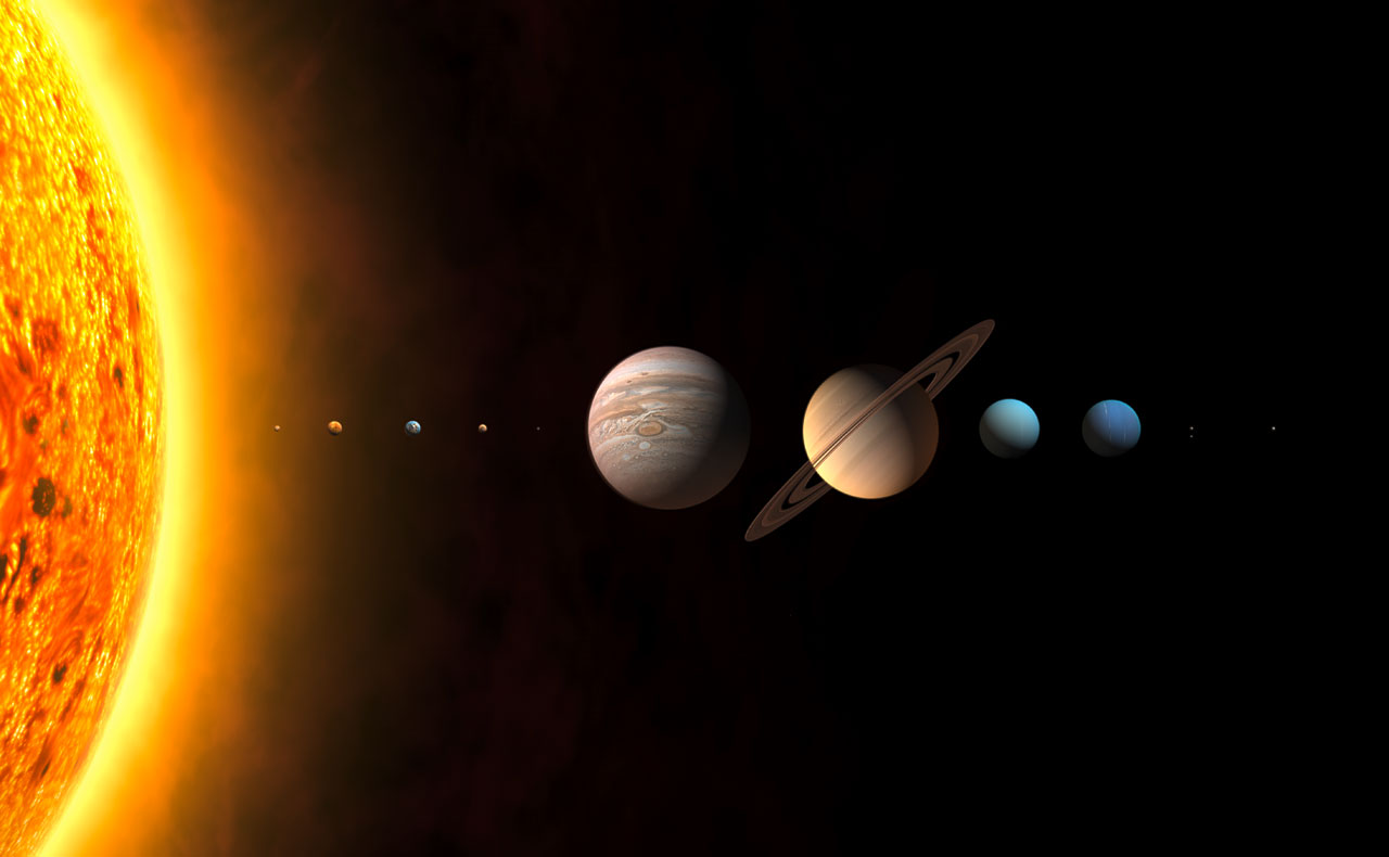 The New Solar System Unannotated Iau