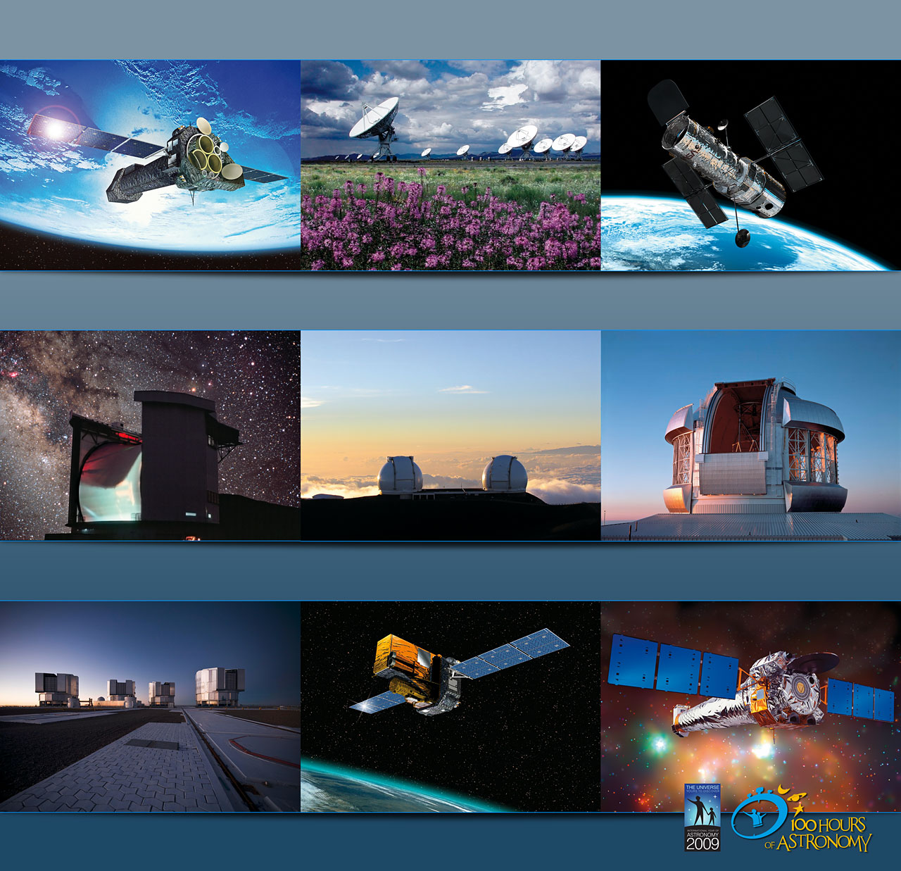 24-hour webcast from the largest telescopes