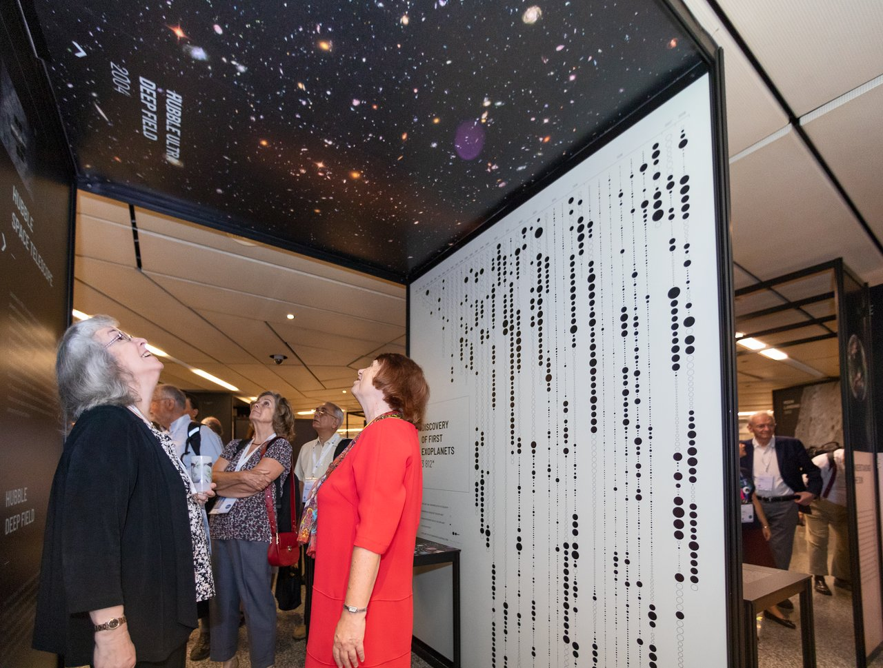 IAU100 Above and Beyond exhibition