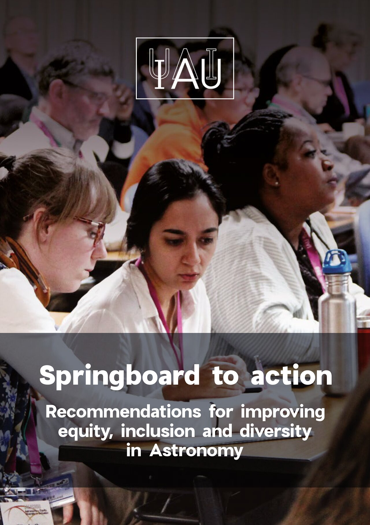 Cover of the Springboard to Action document
