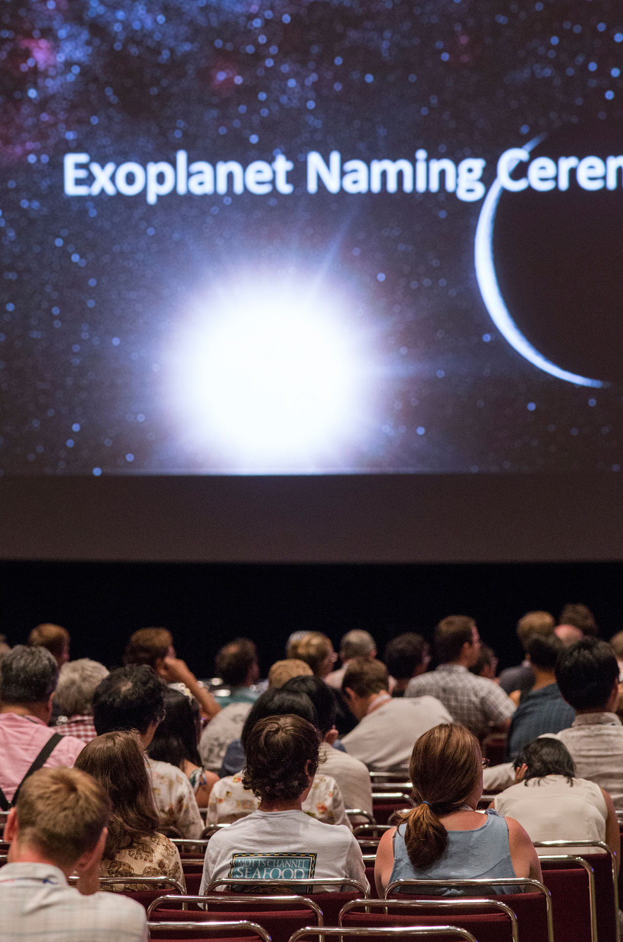 Exoplanet Naming Ceremony at the IAU XXIX General Assembly