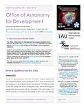 The IAU OAD Newsletter #5 — April 2014