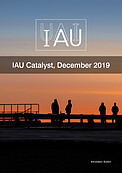 Cover of the IAU Catalyst, December 2019