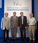 The new IAU Officers 2009