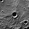 Carolan Crater on Mercury