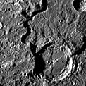Karsh Crater on Mercury