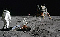 Apollo 11 Lunar Module and Buzz Aldrin
