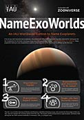 Poster for NameExoWorlds