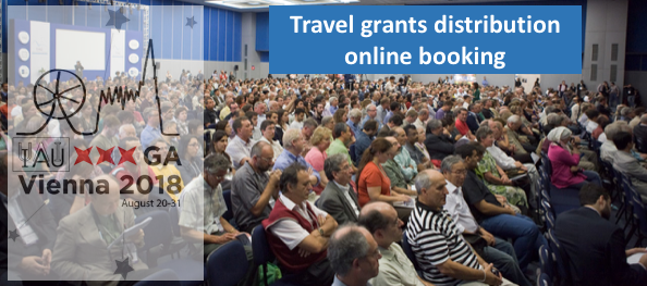 Travel grant application online booking